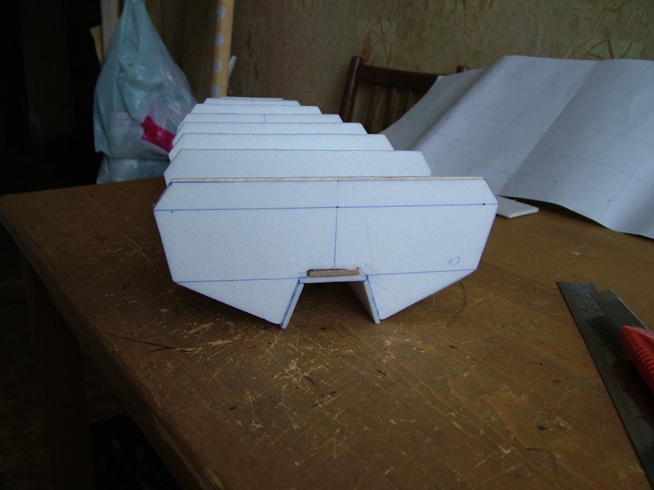 Как сделать яхту из пенопласта - Изобретения 79