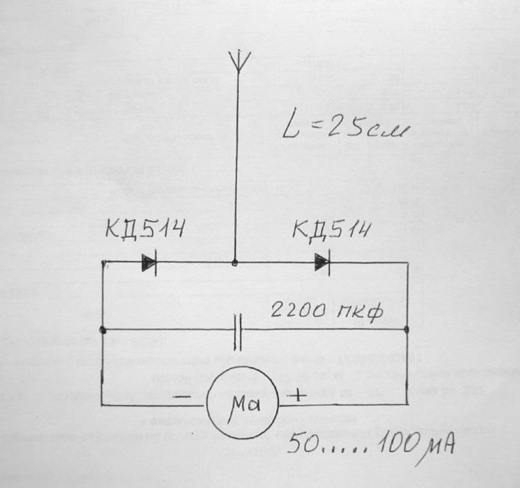 Индикатор электрического поля своими руками 26