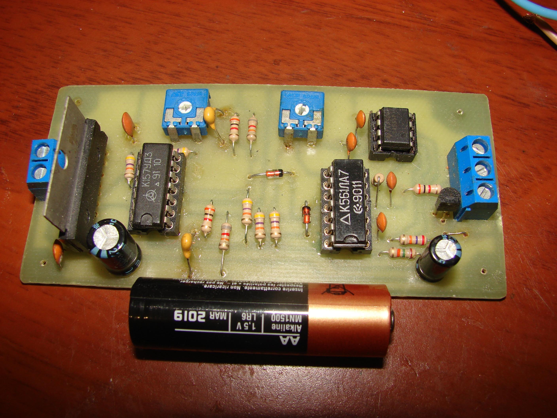 схема самодельного радиоуправления моделями