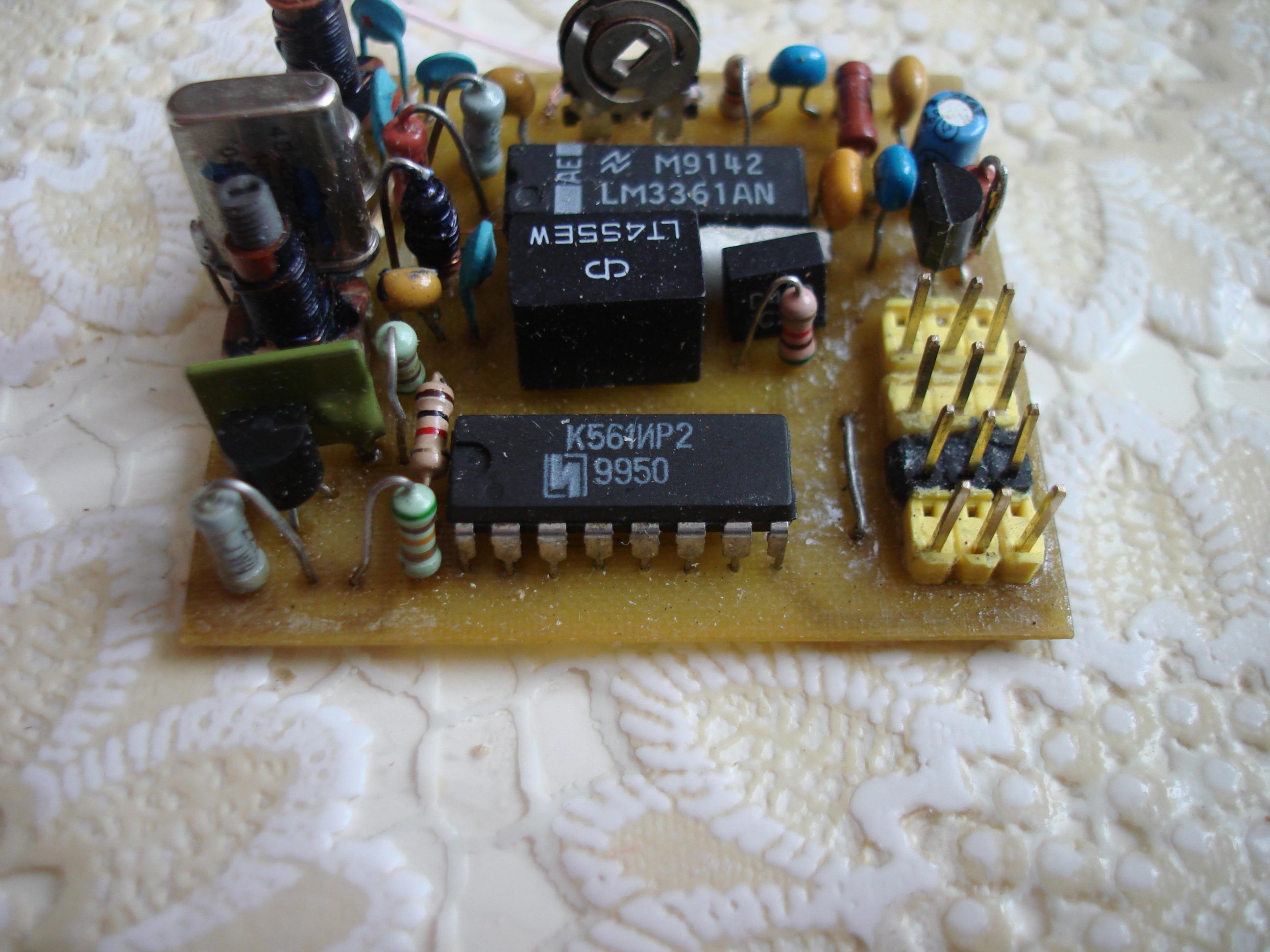 передатчик для авиамодели схема
