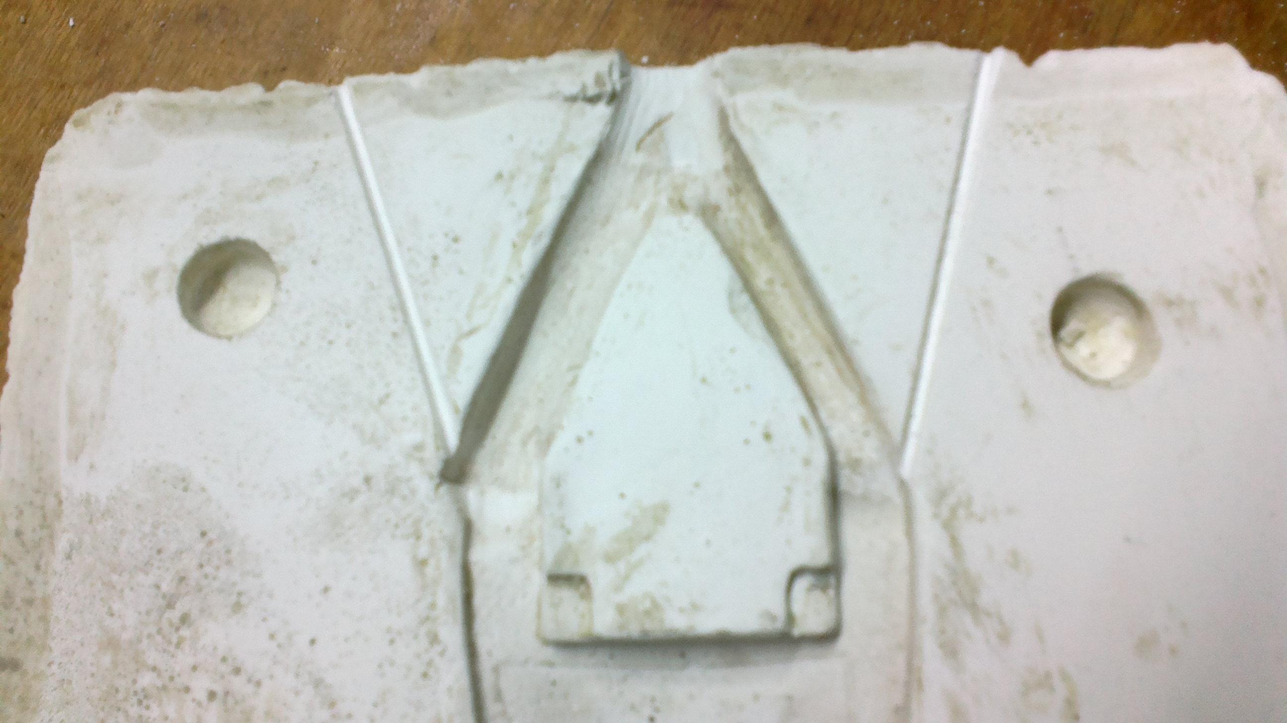Как сделать форму для отливки из алюминия в домашних условиях