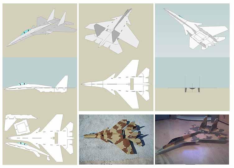 Как сделать модель самолёта который летает