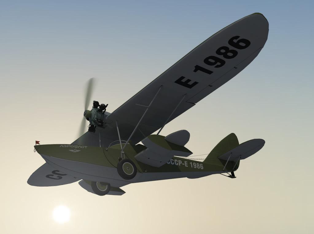 Обновлённая модель самолёта-амфибии Шавров Ш-2 стала очередным самолётом-призёром нашего соотечественника dden на...