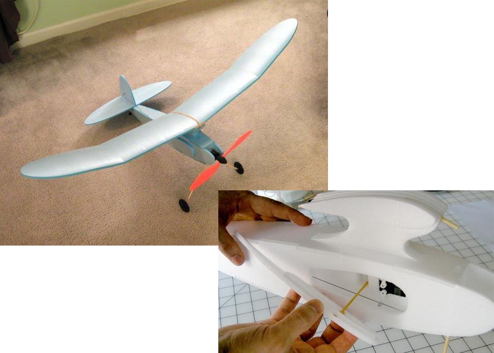 Как делать самолет своими руками 52