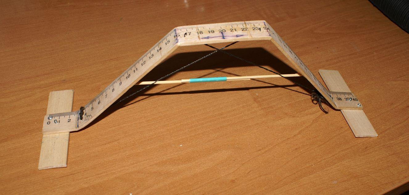 Изготовление лыжных шасси для маленького самолета из потолочки.