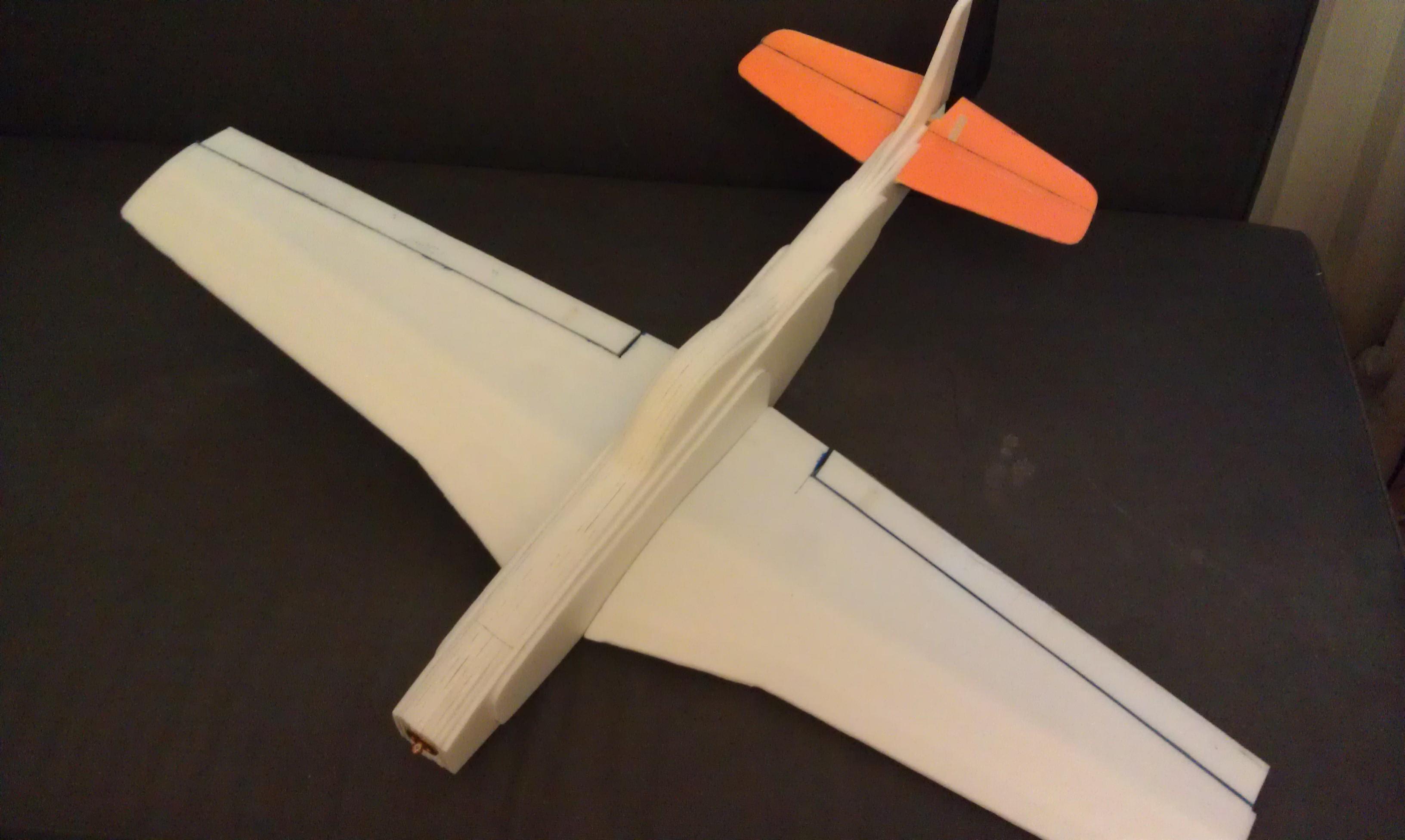 Делаем авиамодели из потолочной плитки своими руками 79