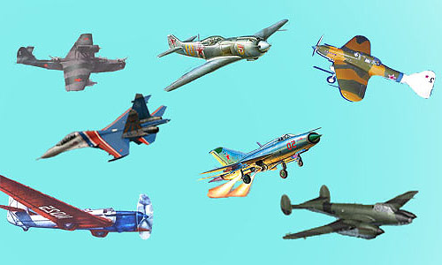 Бумажные модели самолетов