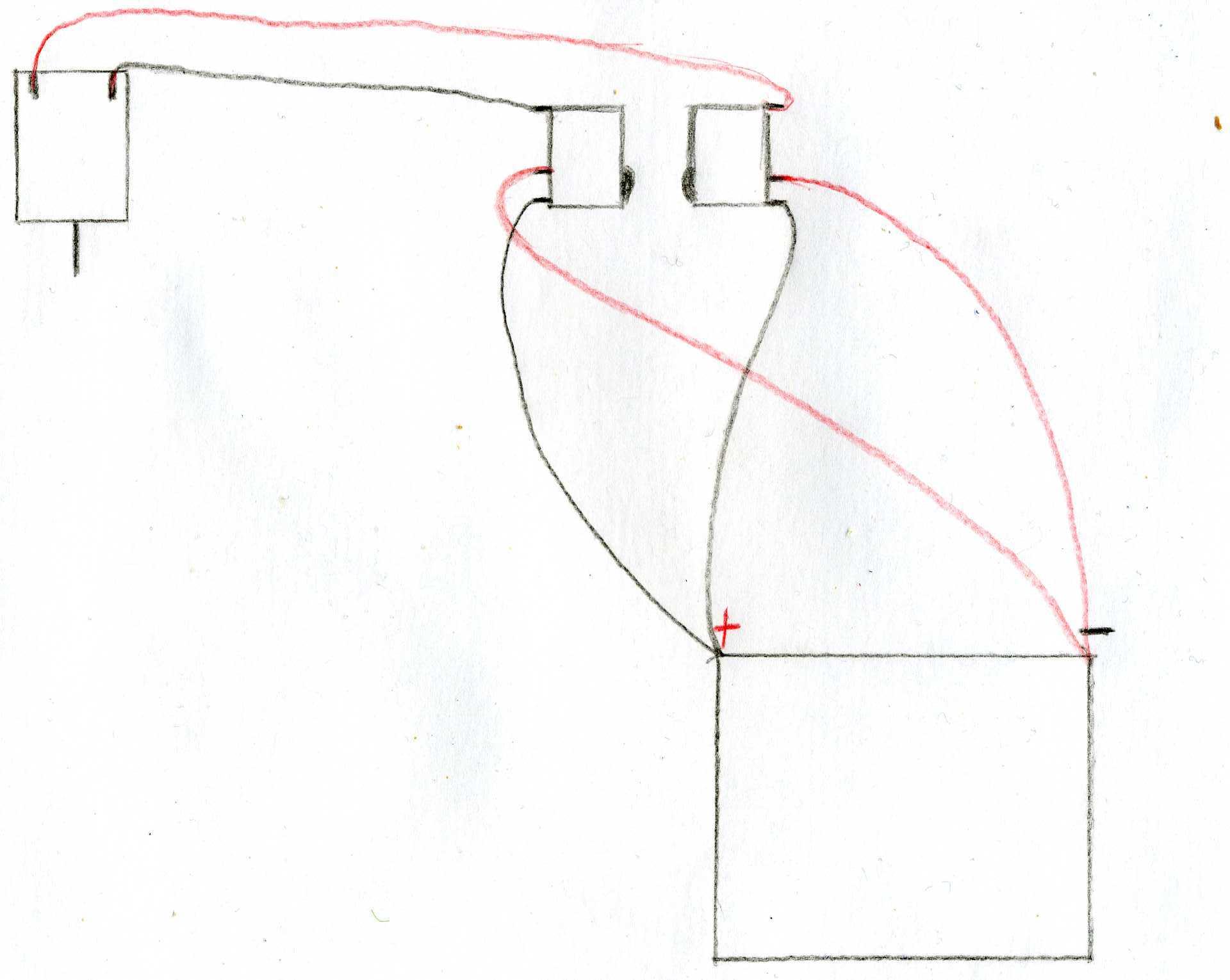 Как сделать реверс на мотор 36
