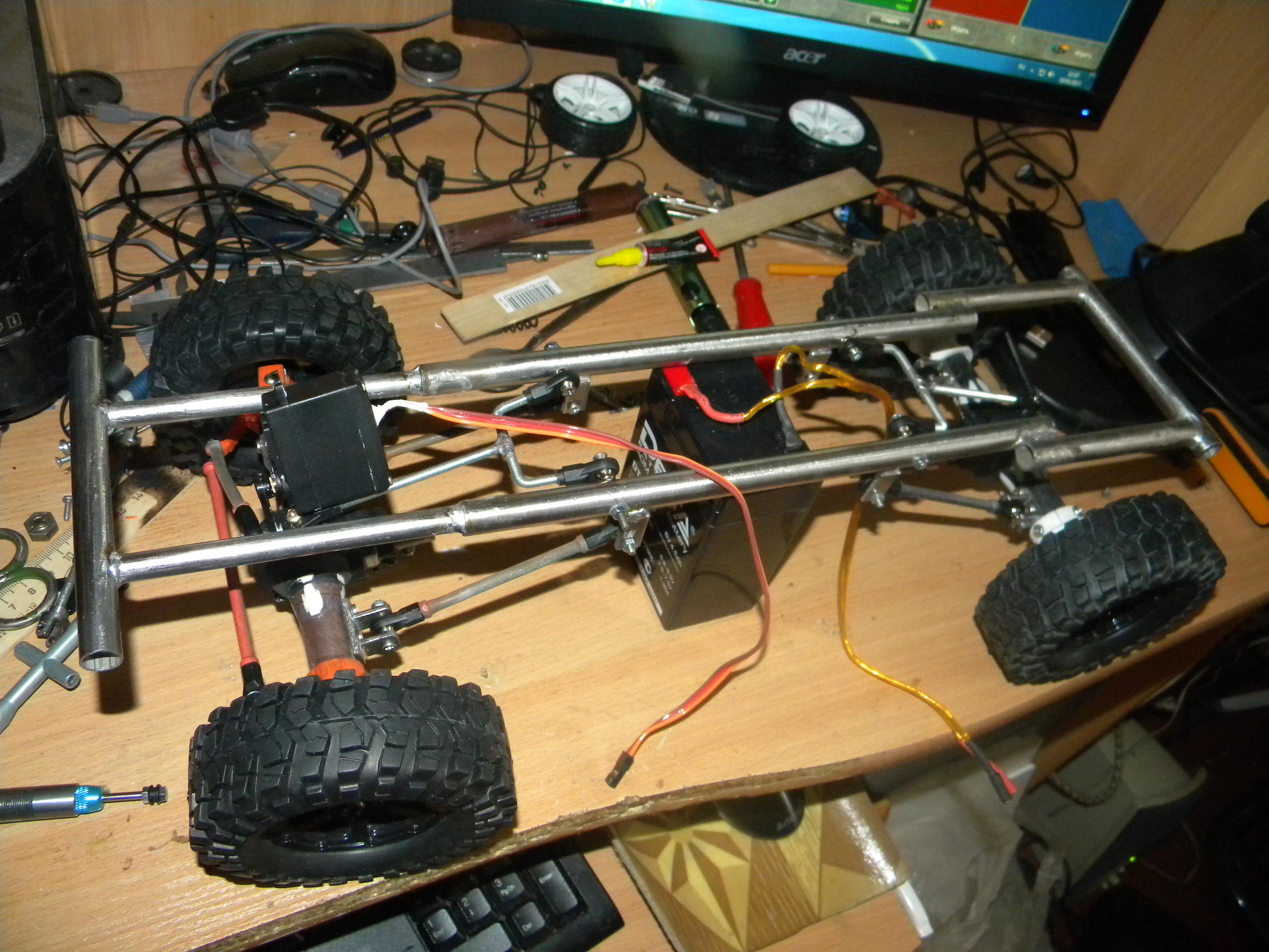 Радиоуправляемые модели в домашних условиях