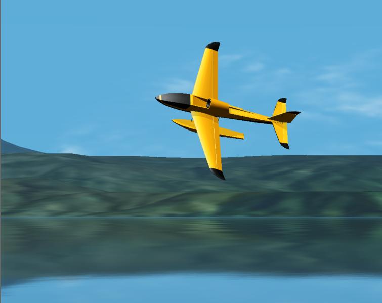 Wasp - модель для симулятора