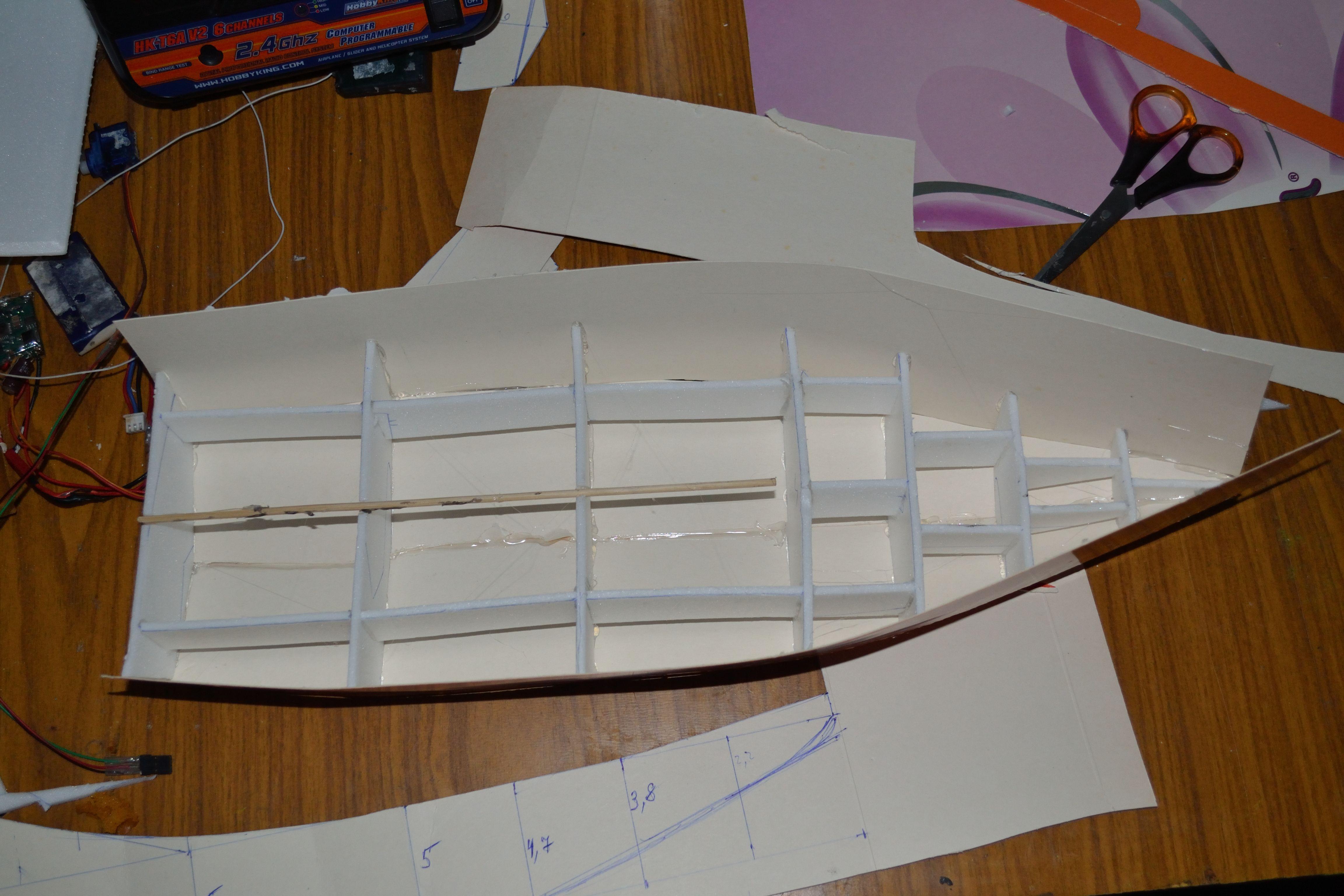 Как сделать яхту из пенопласта - Изобретения 66