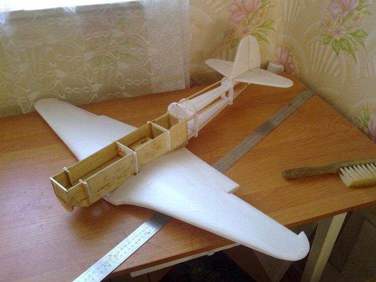 Сборка моделей самолетов своими руками