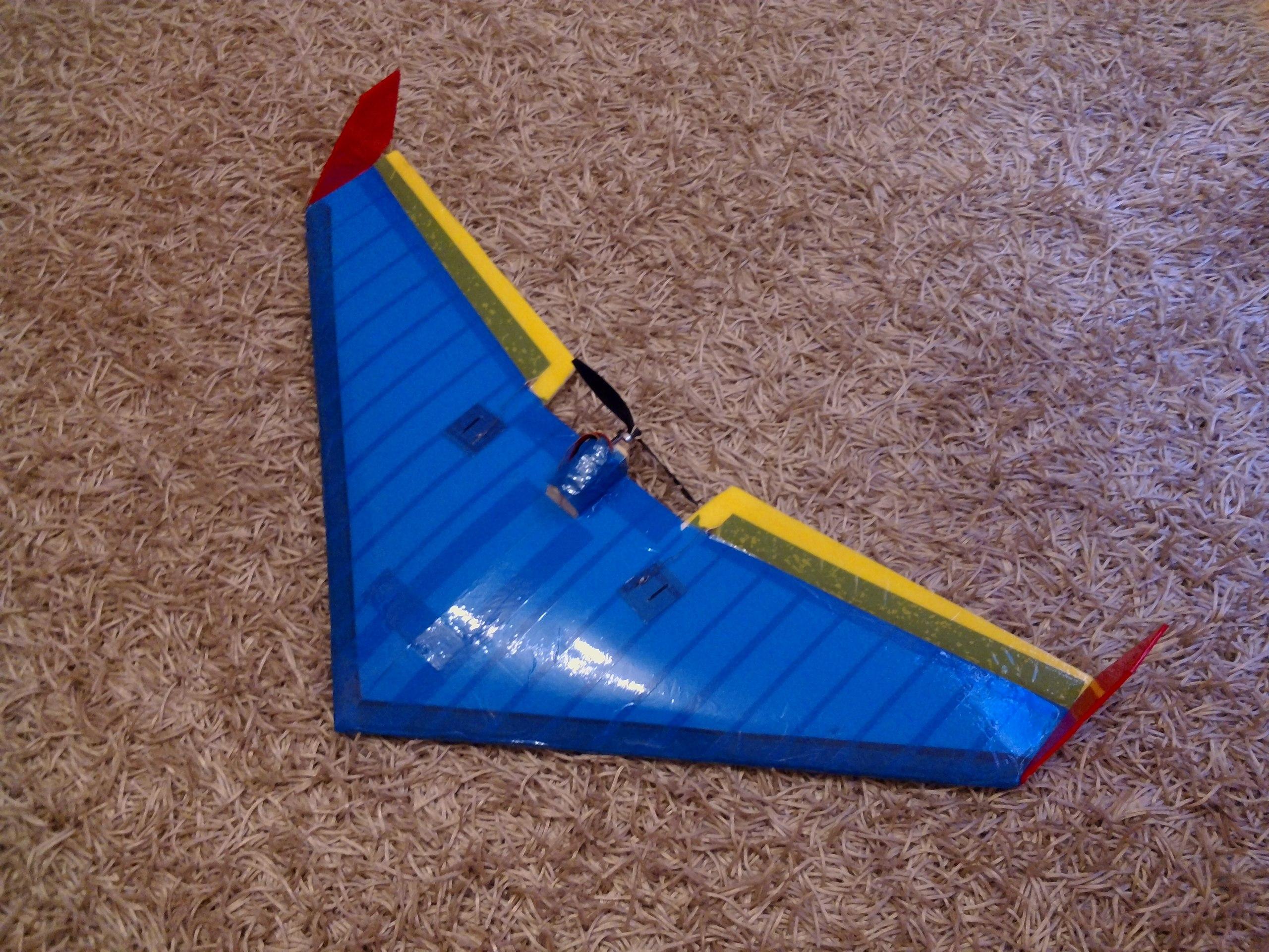 Как сделать крыло самолета из потолочки видео 19
