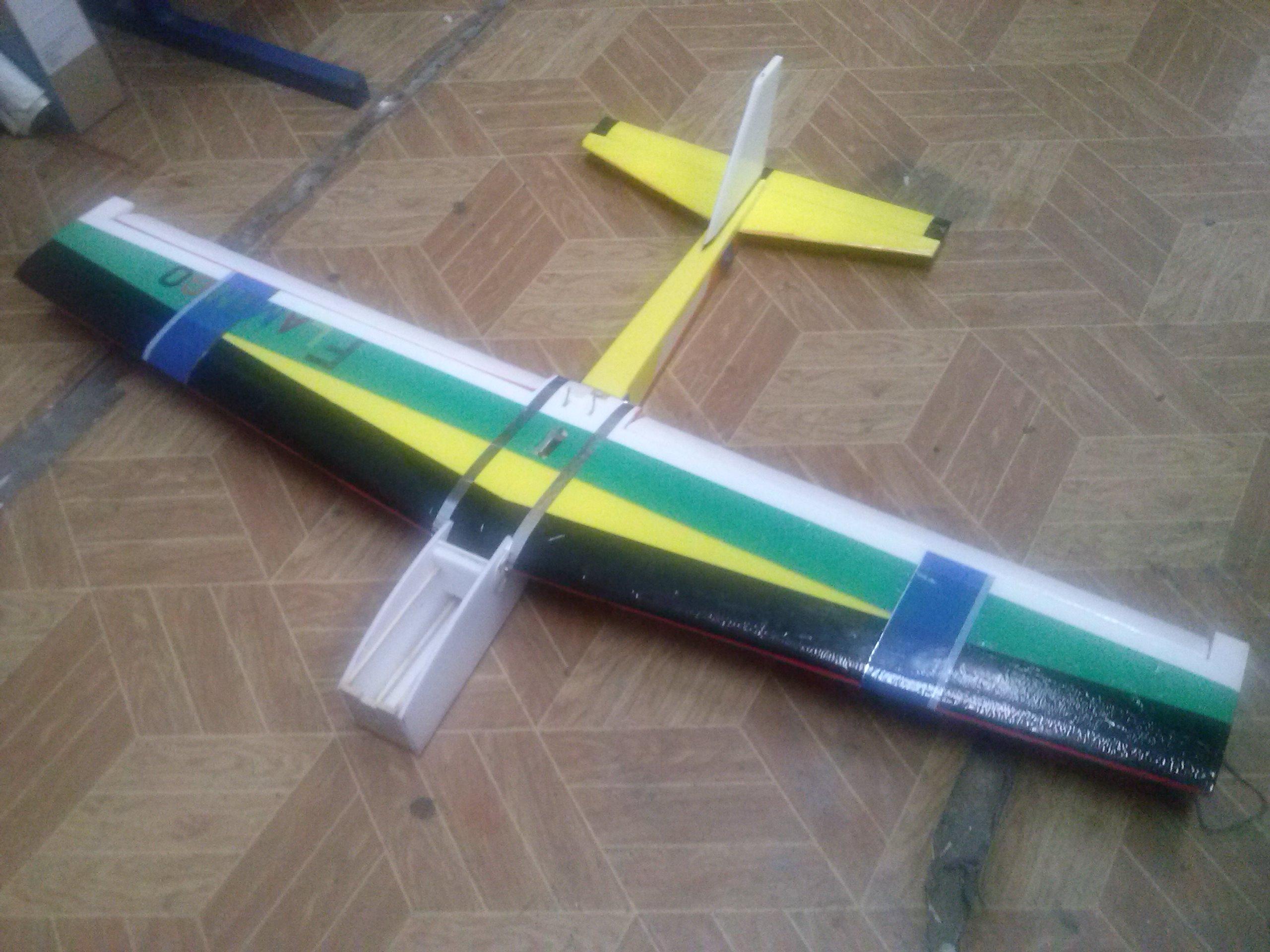 Делаем авиамодели из потолочной плитки своими руками 46