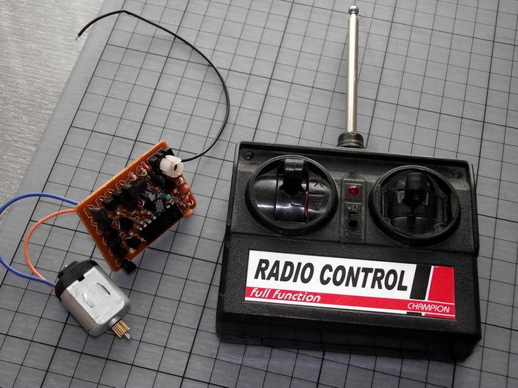 Как сделать пульт к радиоуправляемой машинке