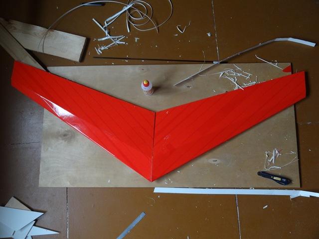 Как сделать крыло самолета из потолочки видео 83