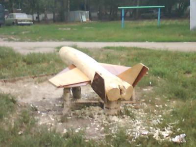 Деревянный самолет для детской площадки своими руками 52