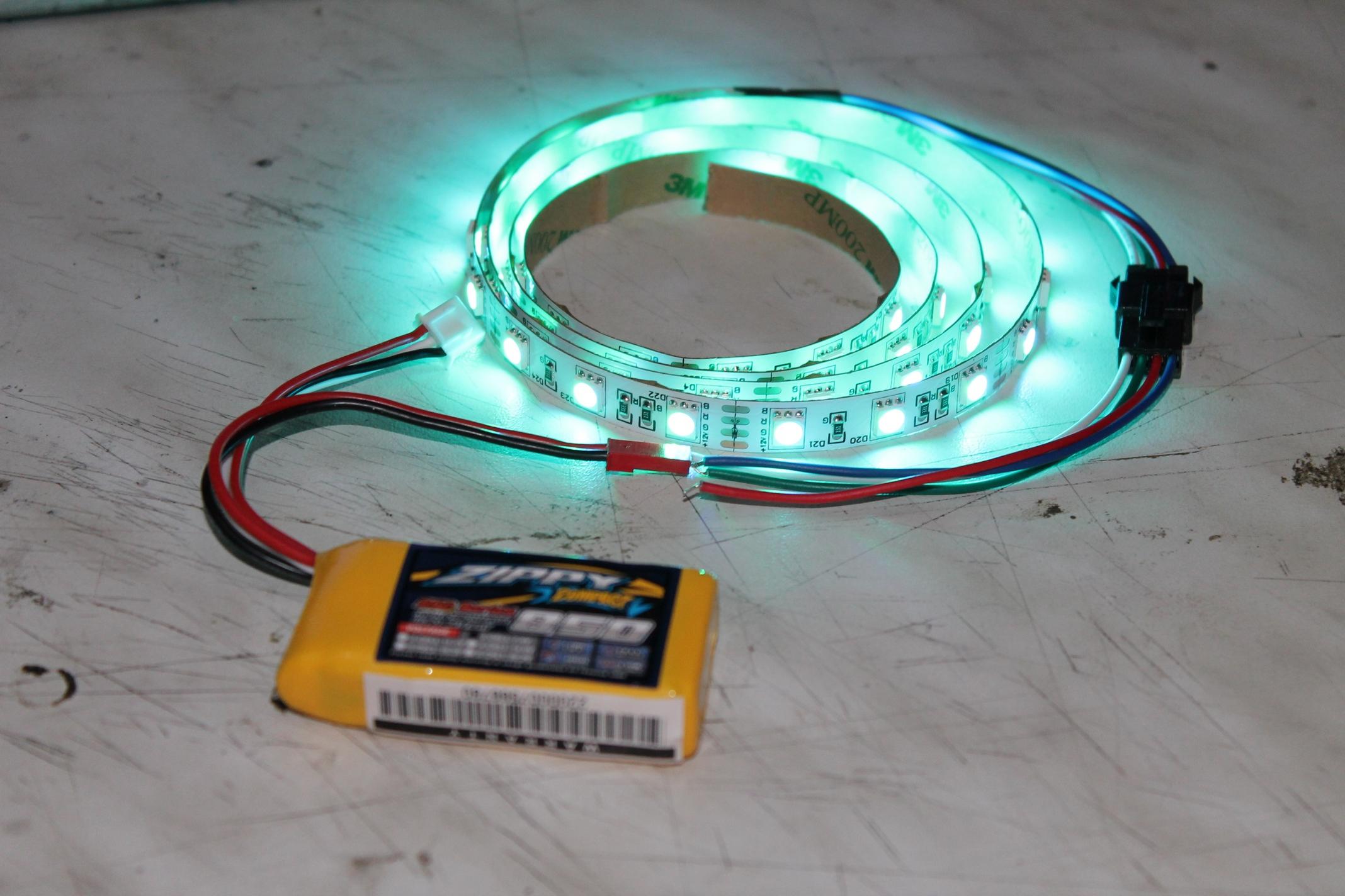 Как сделать светодиодную ленту мигающей 12 вольт