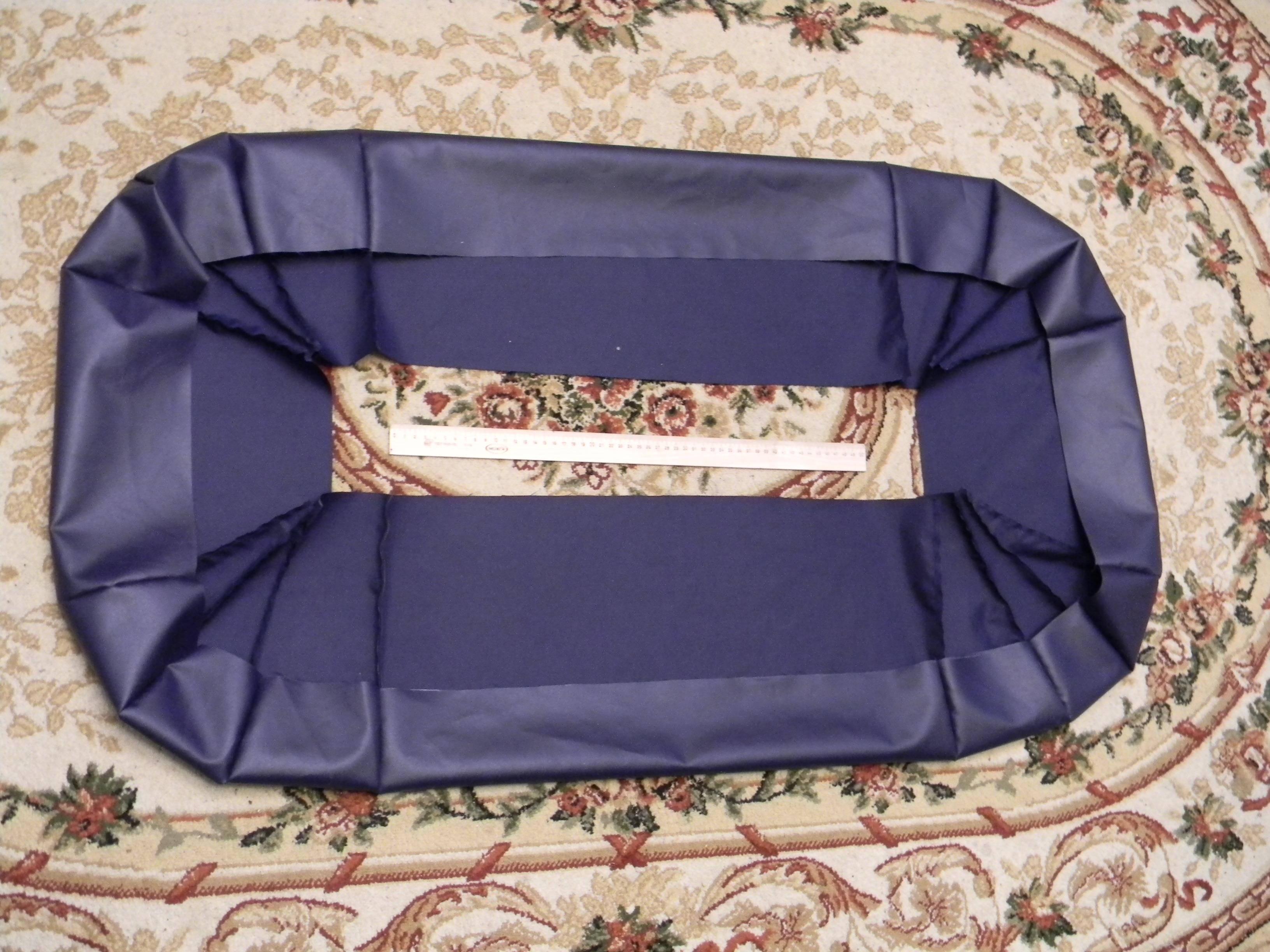Юбка для катер на воздушной подушке
