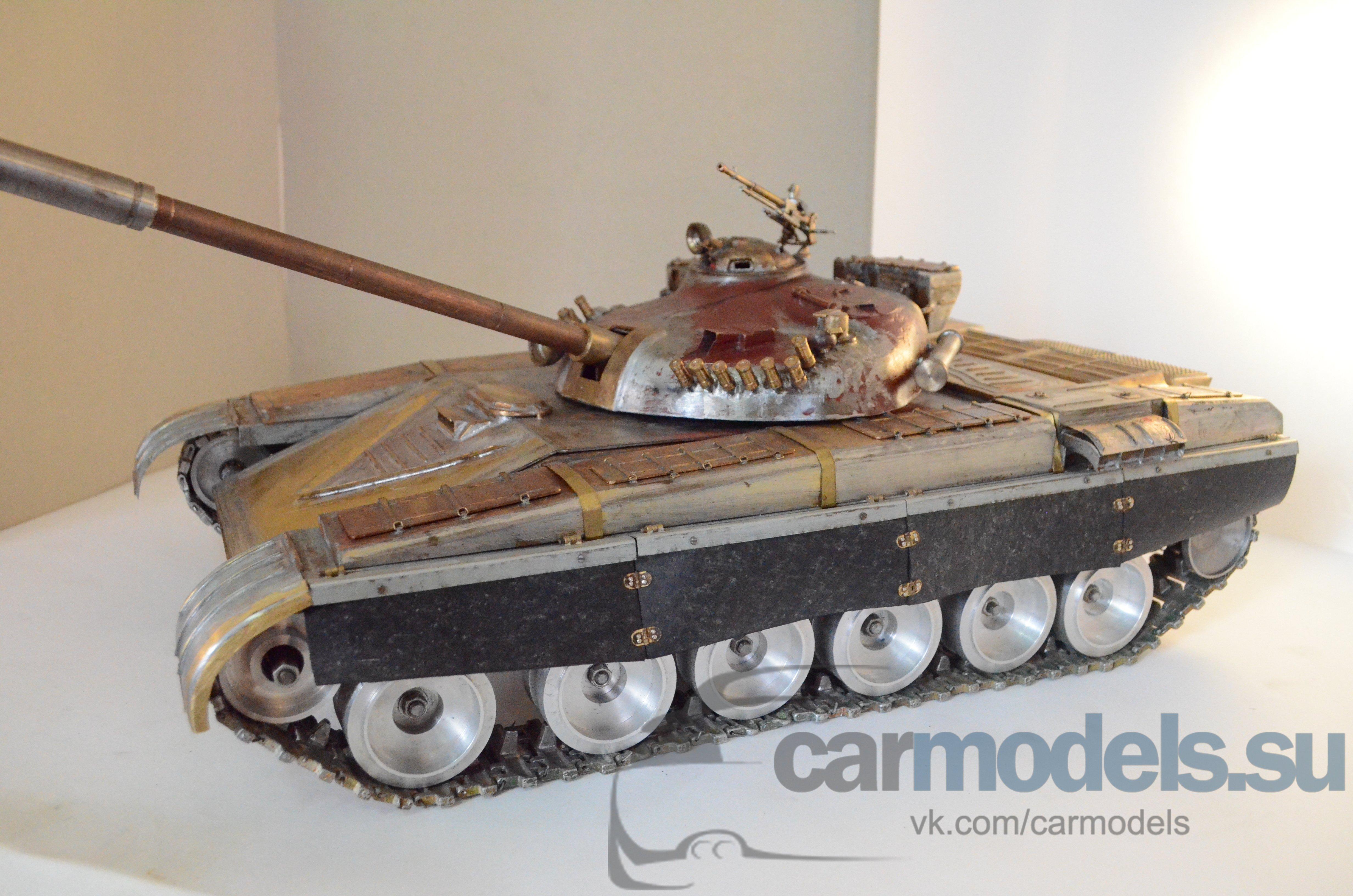 Радиоуправляемые модели своими руками танки