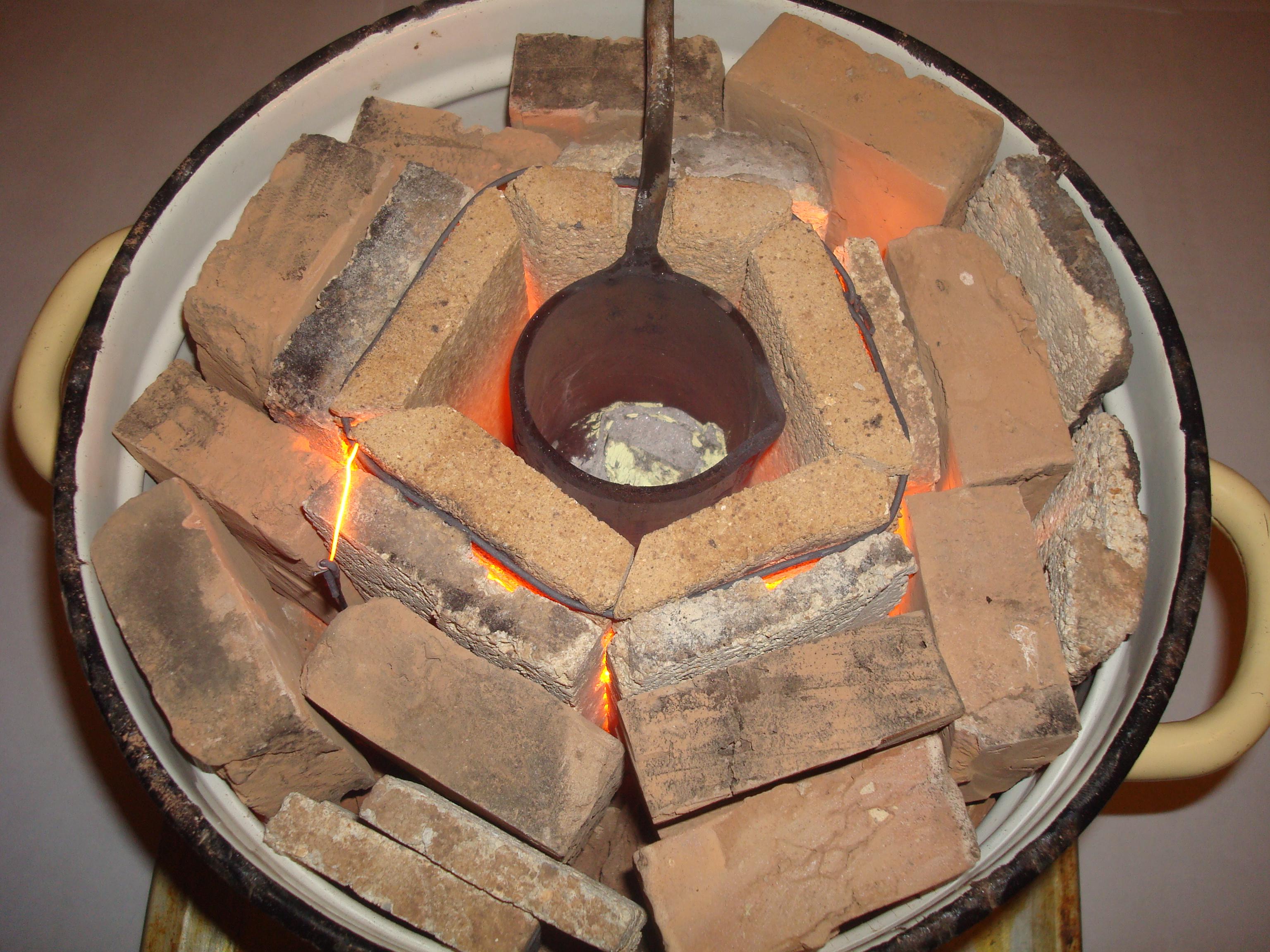 Как расплавить медь в домашних условиях: температура