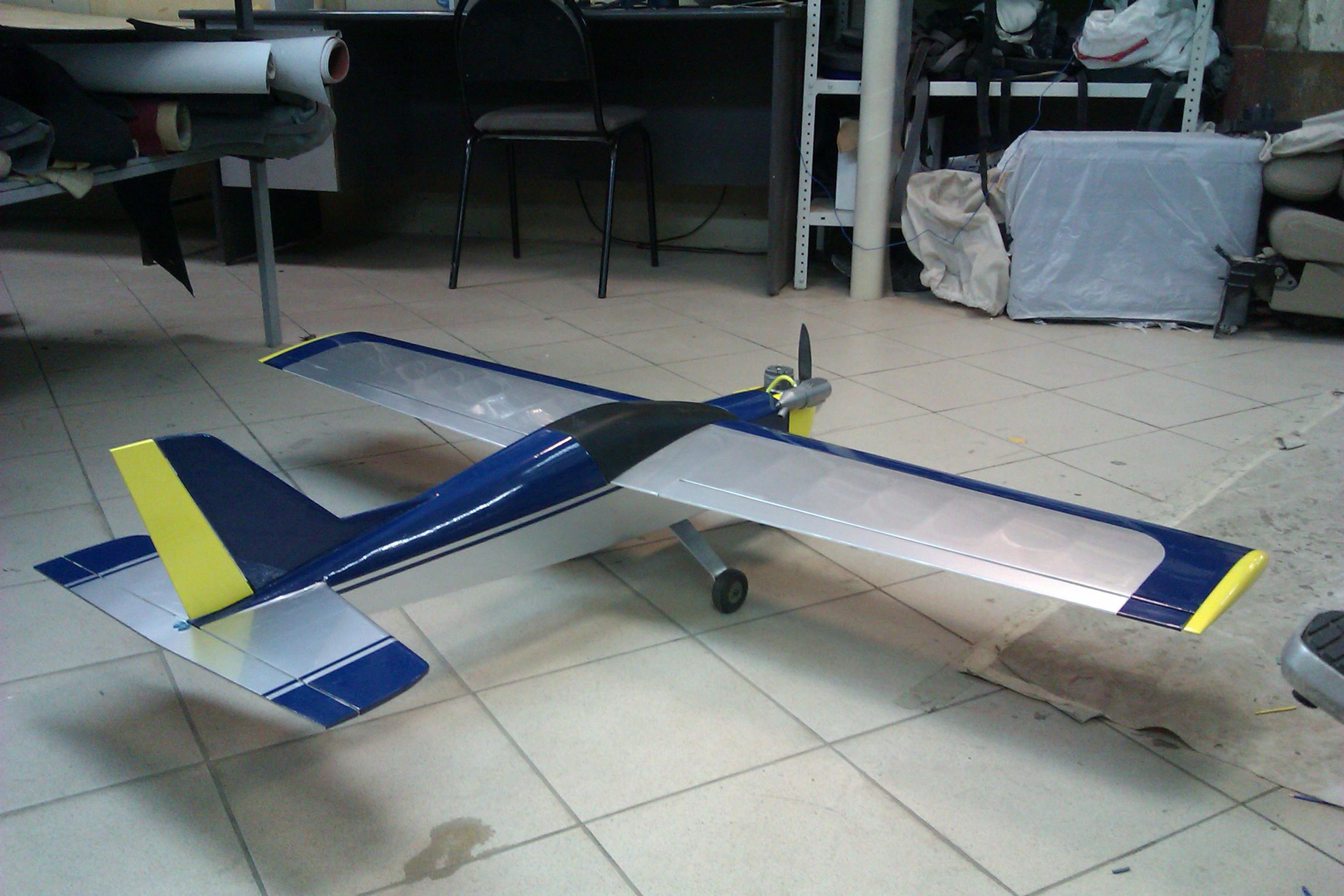 Модель самолёта с двс своими руками