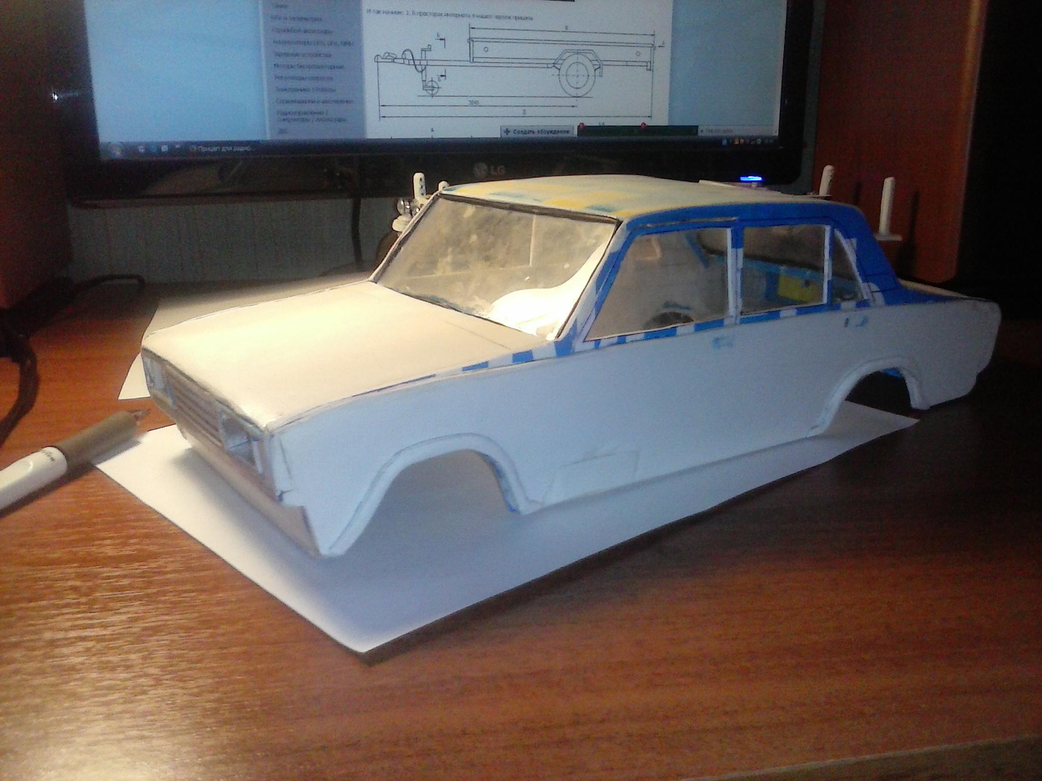 Как сделать модель машины фото 635