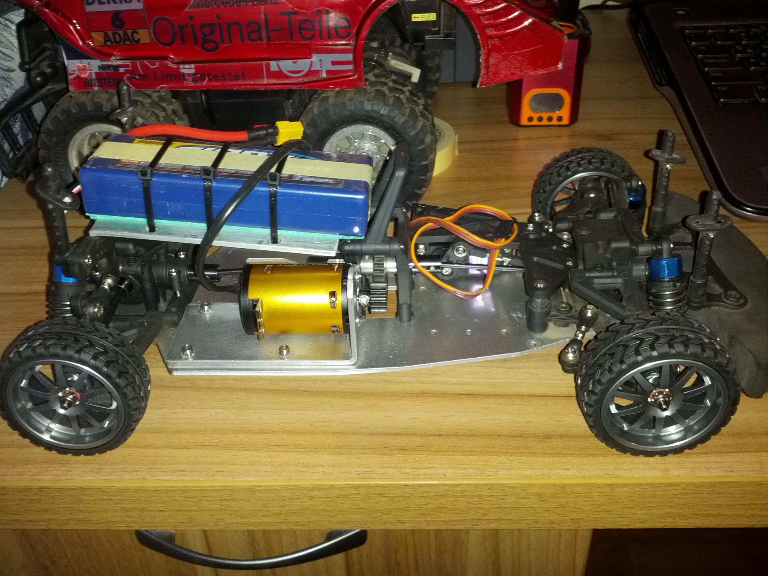 Переделка модели на радиоуправлении двс в электро