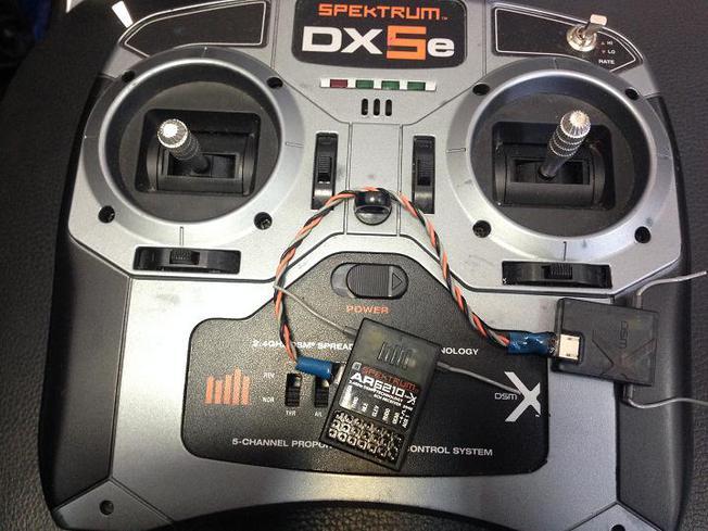 Приемник OrangeRx R615 Spektrum/JR DSM2 Compatible 6Ch 2 4Ghz