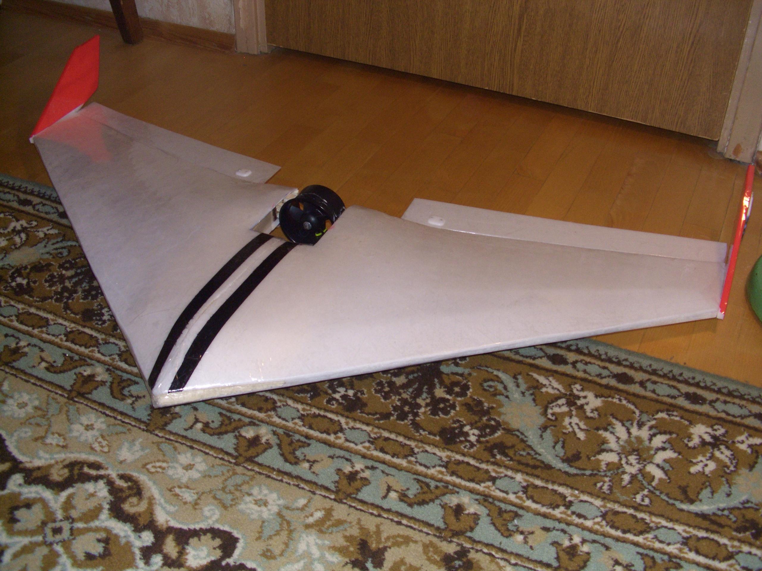 Летающее крыло (бесхвостка) из бумаги Всё самое интересное! 71