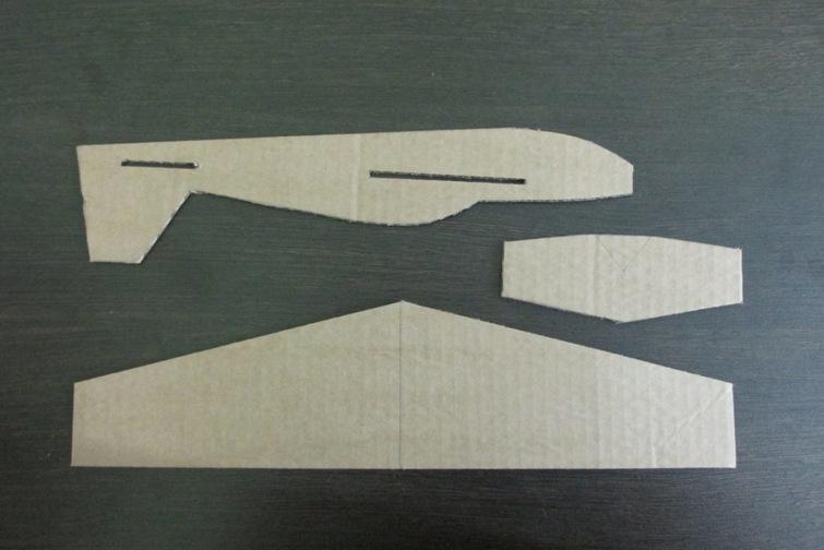Шаблоны для самолёта из картона своими руками