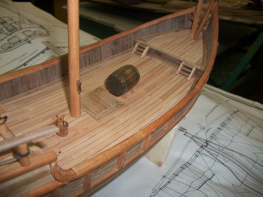 Как сделать большой корабль из дерева своими руками 78