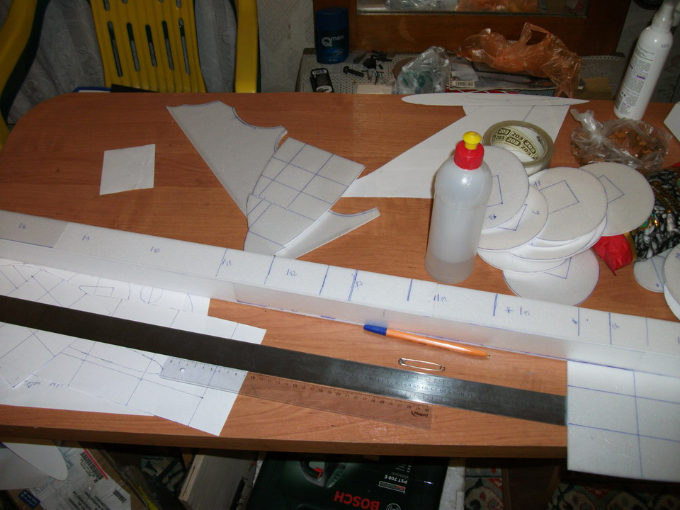 Модель самолета своими руками из картона