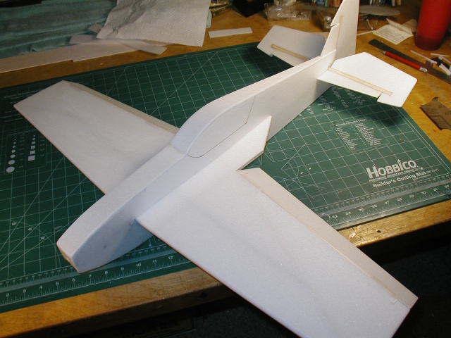Сделай сам самолет из пенопласта