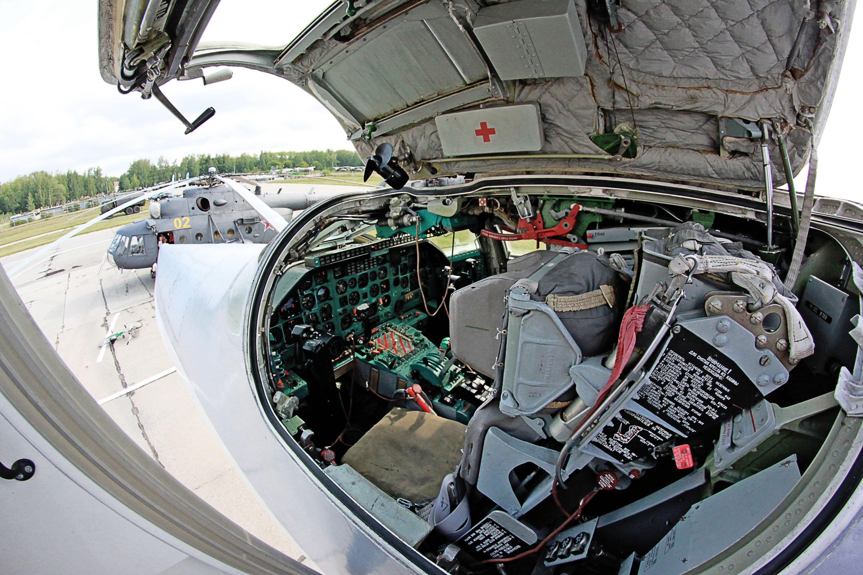 фото кабина ту-22м3
