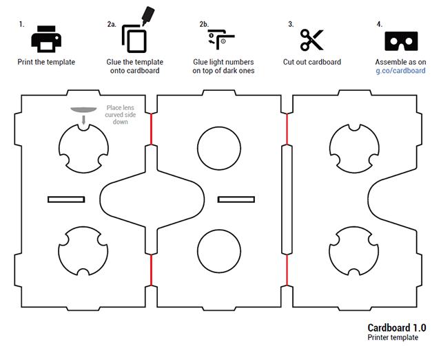 Как сделать виртуальные очки из картона чертежи 194