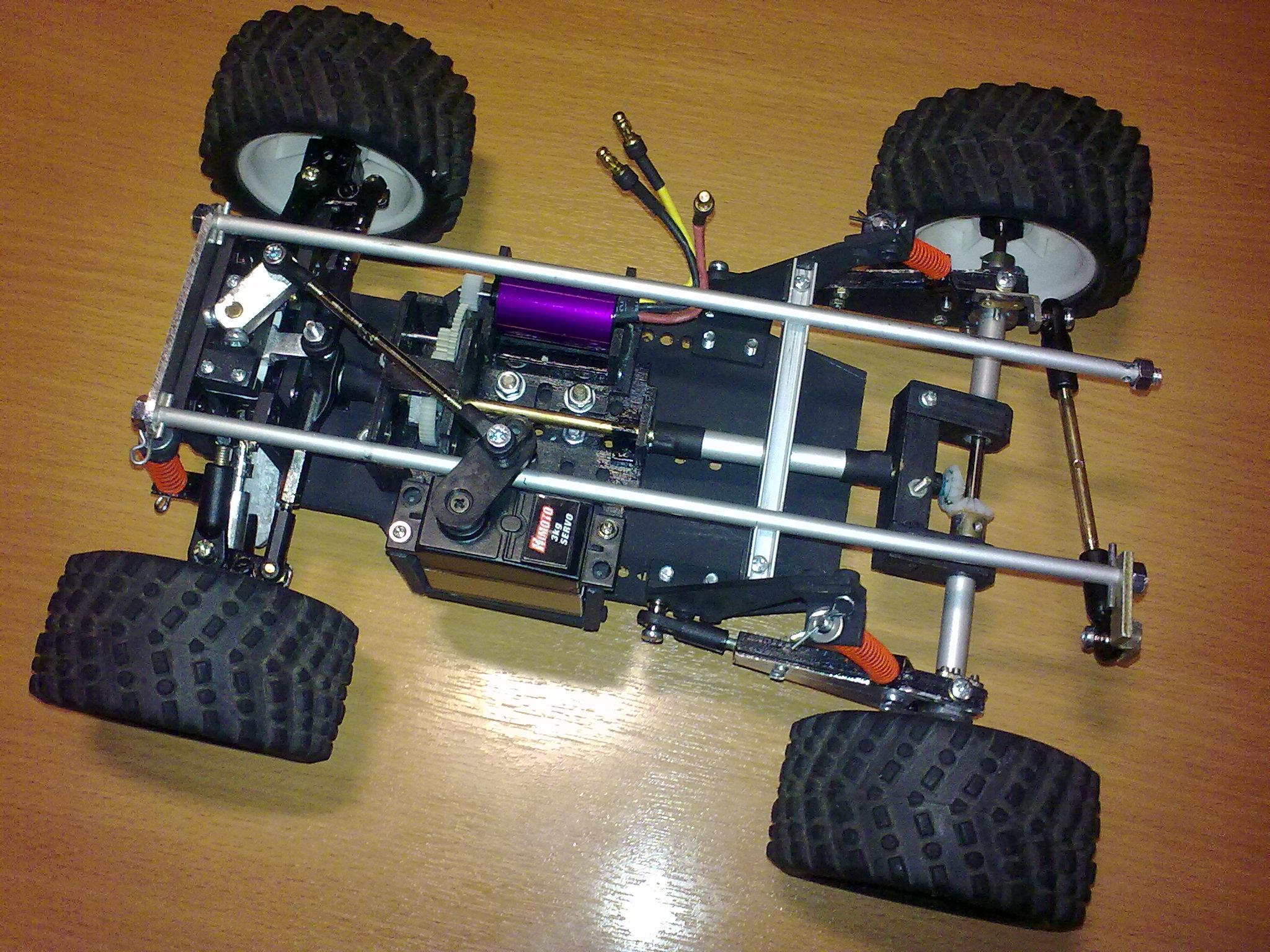 Радиоуправляемые машины с бензиновым двигателем своими руками 56