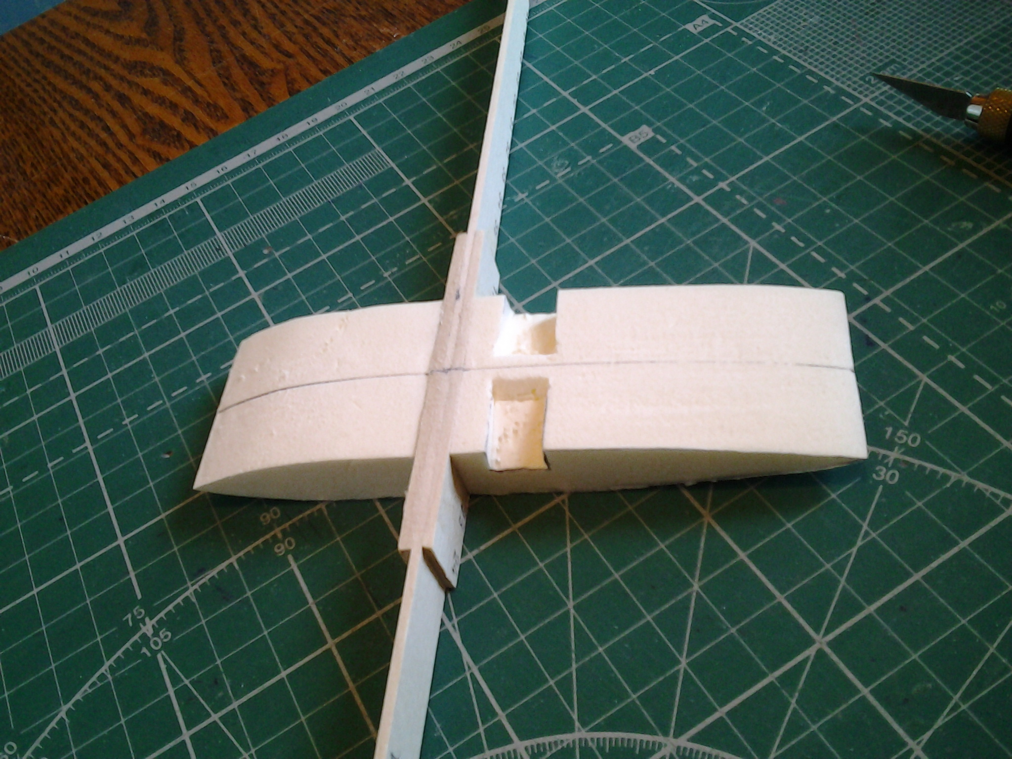 Как сделать крылья авиамодели