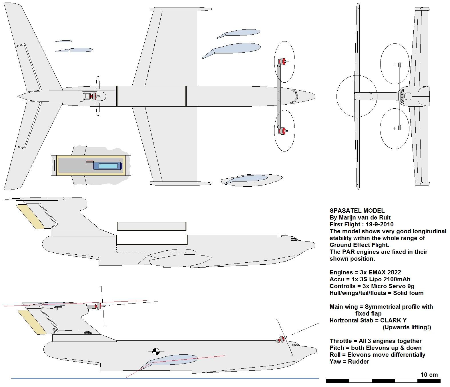 Форма центропланов и подвижных консолей крыла самолетов изменяемой геометрии (кроме в-1, масштаб 1 :200)