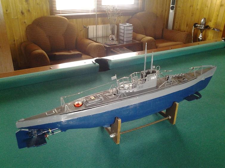 модели подводных лодок на радиоуправлении