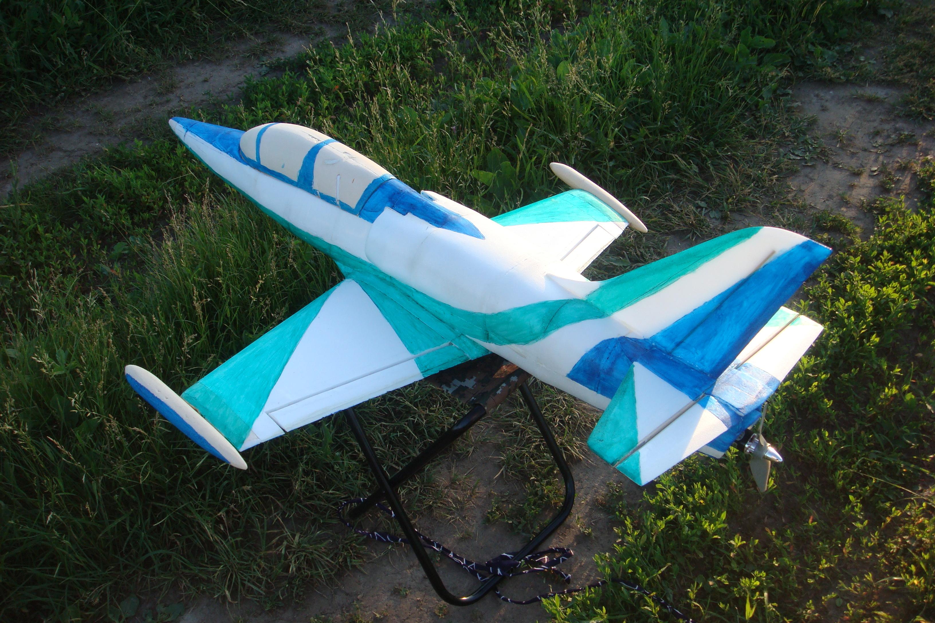 самолет из потолочной плитки инструкция