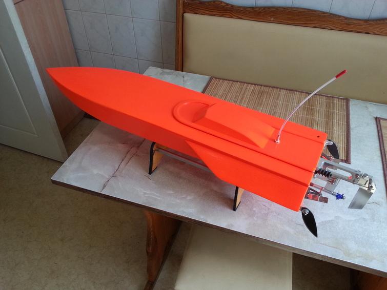 Модель скоростного катера своими руками 67