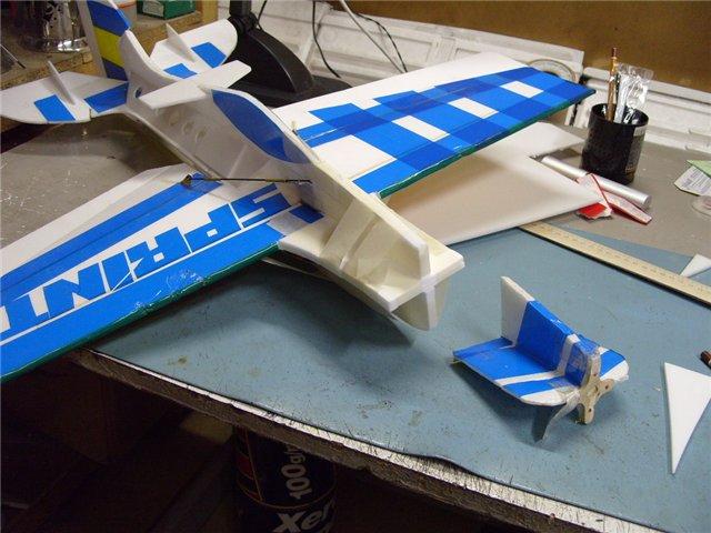 Как сделать радиоуправляемую самолет своими руками 202